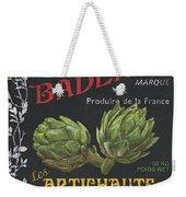 French Veggie Labels 1 Weekender Tote Bag by Debbie DeWitt