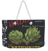 French Veggie Labels 1 Weekender Tote Bag by Debbie DeWitt