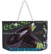 French Veggie Labels 4 Weekender Tote Bag