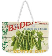 French Veggie Sign 1 Weekender Tote Bag by Debbie DeWitt