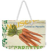 French Veggie Sign 2 Weekender Tote Bag