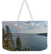Frenchman Bay Weekender Tote Bag