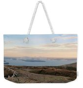 Frenchmans Bay From Cadillac Mountain Weekender Tote Bag