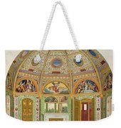 Fresco Decoration In The Summer House Weekender Tote Bag