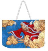 Fresco Father Christmas Weekender Tote Bag
