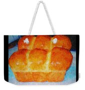 Fresh Baked Bread Three Bun Loaf Weekender Tote Bag