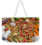 Fresh Chili Peppers Weekender Tote Bag
