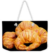 Fresh Croissants Weekender Tote Bag