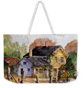 Fresh Eggs For Sale Weekender Tote Bag by Marilyn Smith
