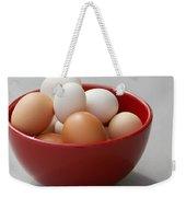 Fresh Farm Eggs Weekender Tote Bag