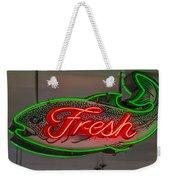 Fresh Fish Weekender Tote Bag