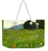 Fresh Flowers Weekender Tote Bag