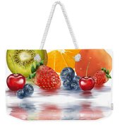 Fresh Fruits Weekender Tote Bag