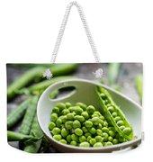 Fresh Garden Peapods Weekender Tote Bag