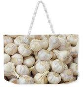 Fresh Garlic Bulbs Weekender Tote Bag