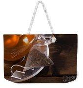 Fresh Glass Cup Of Tea Weekender Tote Bag
