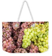 Fresh Grapes On Display Weekender Tote Bag