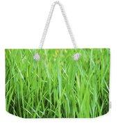 Fresh Grass Weekender Tote Bag