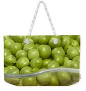 Fresh Green Peas Weekender Tote Bag