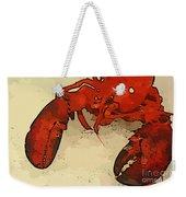 Fresh Lobster Weekender Tote Bag