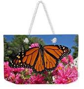 Fresh Monarch Butterfly Weekender Tote Bag