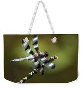Fresh Morning Dragonfly Weekender Tote Bag