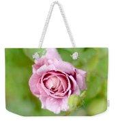 Fresh Morning Rose Weekender Tote Bag