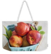 Fresh Nectarines Weekender Tote Bag