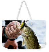 Fresh On The Hook Weekender Tote Bag