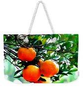 Fresh Orange On Plant Weekender Tote Bag