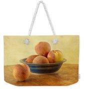 Fresh Peaches Weekender Tote Bag