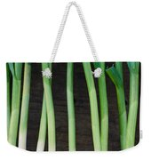Fresh Picked Garlic Weekender Tote Bag