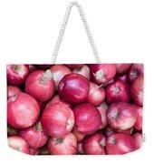 Fresh Red Apples Weekender Tote Bag