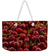 Fresh Red Cherries Weekender Tote Bag