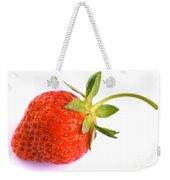Fresh Red Strawberry Weekender Tote Bag