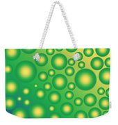 Fresh Tropical Bubbles Weekender Tote Bag
