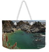 Fresh Water Into The Bay Weekender Tote Bag by Adam Jewell