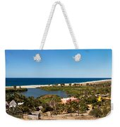 Fresh Water Lagoon At Playa La Poza Weekender Tote Bag