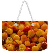 Fresh Yellow Cherries Weekender Tote Bag