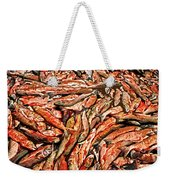 Freshly Catched Salmons At The Nenana River - Ak Weekender Tote Bag