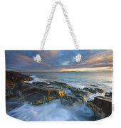 Freycinet Cloud Explosion Weekender Tote Bag by Mike  Dawson