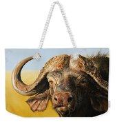 African Buffalo Weekender Tote Bag