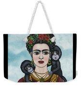 Frida In The Sky Weekender Tote Bag
