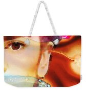 Frida Kahlo Art - Seeing Color Weekender Tote Bag