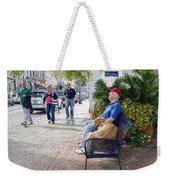 Friend And Companion - Watercolor Effect Weekender Tote Bag