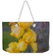 Friendly Yellow Irises Weekender Tote Bag
