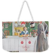 Friends From The Town - Dining Room Weekender Tote Bag