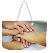 Friends Hands Weekender Tote Bag