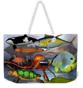 Friends Of The Sea Weekender Tote Bag