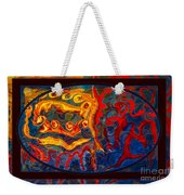 Friendship And Love Abstract Healing Art Weekender Tote Bag